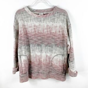 Anthropologie Postmark Sweatshirt with Pockets